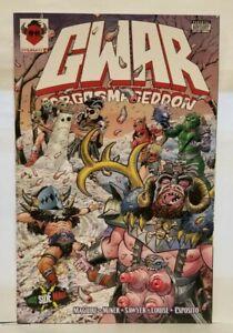 Gwar Orgasmageddon #1 East Side Mags Variant RARE 500 Copies includes bonus var