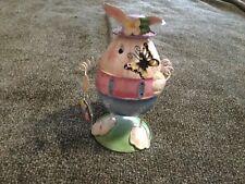 "7 1/2"" Vintage Bobble Easter Bunny -B27"