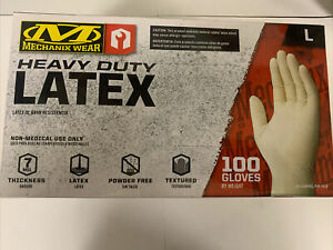 Heavy Duty Mechanix Wear Large Latex Gloves