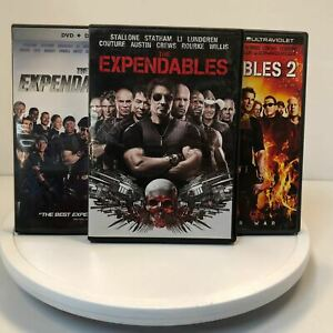 Used - The Expendables Trilogy (Set of three movies) - DVD
