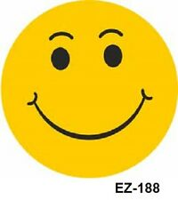 Car Dealer Windshield Stickers, Smiley Face (6 packs) Auto Dealer