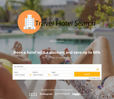 Travel Hotel Search Website Online Business No Extra Fees