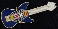 Super Bowl 32 ~ Guitar Pin ~ NFL ~ Football ~ Broncos Win