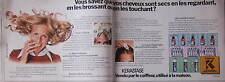 PUBLICITÉ 1975 SHAMPOOING KERASTASE UTILISÉ A LA MAISON - ADVERTISING