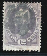 Scott #151, Single 1870 Clay 12c AVG Used
