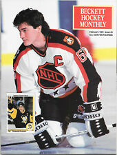 Beckett Hockey Monthly - Feb 1991 - Mario Lemieux - issue #4