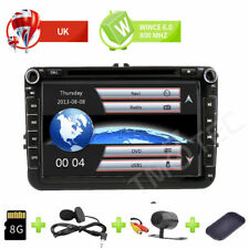 "8"" Car DVD Player Radio GPS Sat Nav Stereo VW Passat Golf Transporter T5 +Camera"