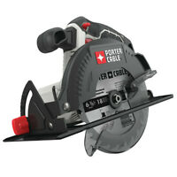 "Porter-Cable 20V MAX Li-Ion 6 1/2"" Circular Saw (Tool Only) PCC660B NEW"