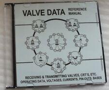 Manual de referencia de datos integrales de Válvula de radio DVD-Tubos De Tubo