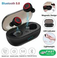 Wireless Earbuds Earphone Bluetooth5.0 Sweatproof TWS In-Ear Stereo Headphone
