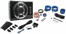 "Boss BASS800 800w Slim Under-Seat 8"" Powered Amplified Car Subwoofer System"