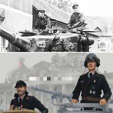 1/16 Set of 2 Figures German soldiers Tank crew (KIT) for Taigen, Heng Long tank