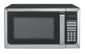 Hamilton Beach 0.9 Cu. Ft. Stainless Steel Countertop Microwave Oven