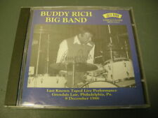 Buddy Rich Big Band - Jazz Big Band December 1986 Last Known Live Cd Pa 1995