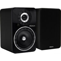 Elipson Prestige Facet 6B BT Bluetooth Bookshelf Speakers - Black (New!)