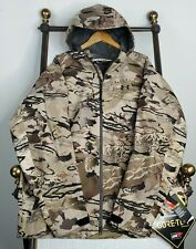 NWT UNDER ARMOUR 2XL Ridge Reaper Gore-Tex Pro Shell Camo Weatherproof Hood NEW