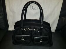 Christian Dior - Black Fabric Handbag with Dust Bag - Excellent Condition