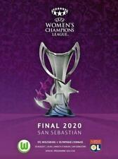 More details for * 2020 womens champions league final - wolfsburg v lyon (30th august 2020) *