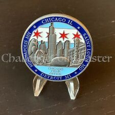C98 Diplomatic Security Service Chicago Field Office Challenge Coin