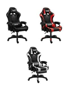 Racing Gaming Chair Office Executive Recliner Computer Desk Chaisr Swivel