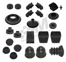 New For Ford Escort Mk2 Complete Body Rubber Grommet & Bump stop set