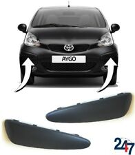 TOYOTA AYGO 2005-2009 NEW FRONT BUMPER MOULDING RIGHT O//S DRIVER