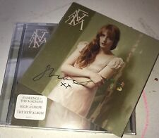 FLORENCE WELCH AND THE MACHINE SIGNED HIGH AS HOPE CD BOOKLET WITH BRAND NEW CD
