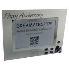 65th Anniversary Gift Photo Frame( Land)(flower)