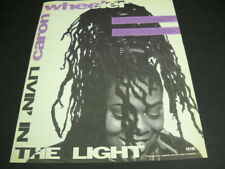 Caron Wheeler 1990 Promo Poster Ad .shine on, grow with the power. mint cond