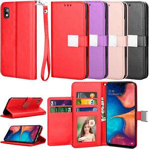 For Samsung Galaxy A10e/A02s/A12/A20/A30/A50/A52/A72 5G Phone Case Card Wallet