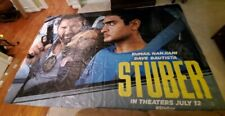 """STUBER, 120"""" x 180"""" Movie Theater lobby only poster promotion vinyl, VERY RARE !"""