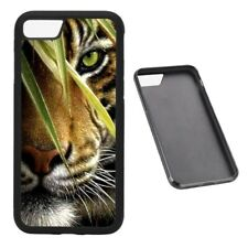 Hunting Tiger RUBBER phone case Fits iPhone