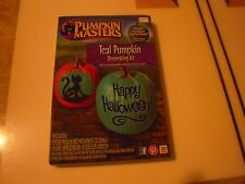New ! Pumpkin Masters Halloween Teal Pumpkin Decorating Kit