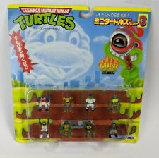 Takara Mini Mutants Set #3 Super Ninja Turtles Playset TMNT Japan Package MOC