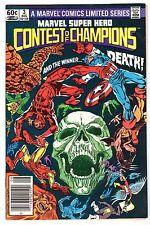Marvel Super Hero Contest of Champions #3, Very Fine, Condition
