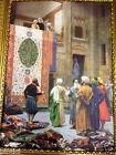 IMAGE Tapis VENDEUR Oriental Image sur mdf plaque 50x70cm sans cadre