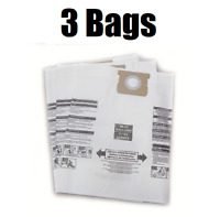 (3) Vacuum Cleaner Bags for Shop Vac Type J 906-73-00 16-22 Gallon by DVC