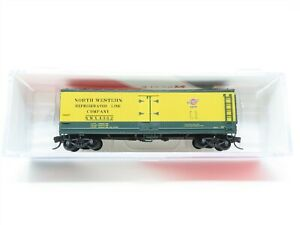 N Scale InterMountain 67716-02 NWX North Western Line Wood Reefer #4362