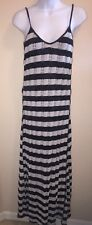 Gypsy 05 Maxi Dress Size XS Navy Blue & White