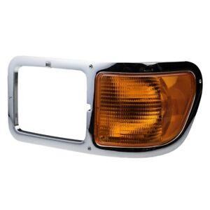 FORD F650 F750 2000-2015 LEFT DRIVER HEADLIGHT BEZEL HEAD LIGHT SIGNAL CORNER