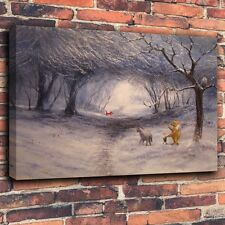 HD Giclee Print Disney Oil Painting on Canvas Home Decor - Winnie the Pooh #1402
