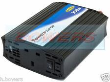 Anillo PowerSource rinvu300 12v 300w Para 240v en coche a la red eléctrica inversor de potencia + Usb