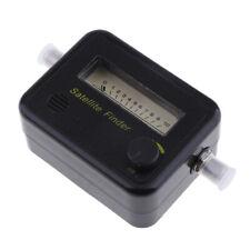 Satellite Finder Meter Analog Signal For Direct TV SF-95 Black