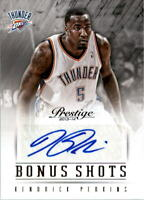 2013-14 Prestige Bonus Shots Autographs #85 Kendrick Perkins Auto - NM-MT