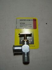 """HEATER HOSE FITTINGS - 90 DEGREE 3/4"""" HOSE TO MALE FITTING WITH SHUT OFF VALVE"""