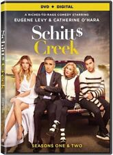 Schitts Creek: Seasons 1 & 2 [DVD + Digital] New, Free shipping