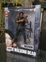 """McFARLANE TOY THE WALKING DEAD GLENN 10"""" ACTION FIGURE BRAND NEW DAMAGED BOXES"""