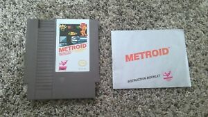 Metroid with Manual for Nintendo NES