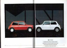 Rover Cars May-August 1990 UK Brochure Mini Metro Maestro Montego 200 400 800