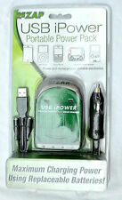 ReZAP USB iPower Portable Power Pack Great For Emergencies Using AAA or AA Batts
